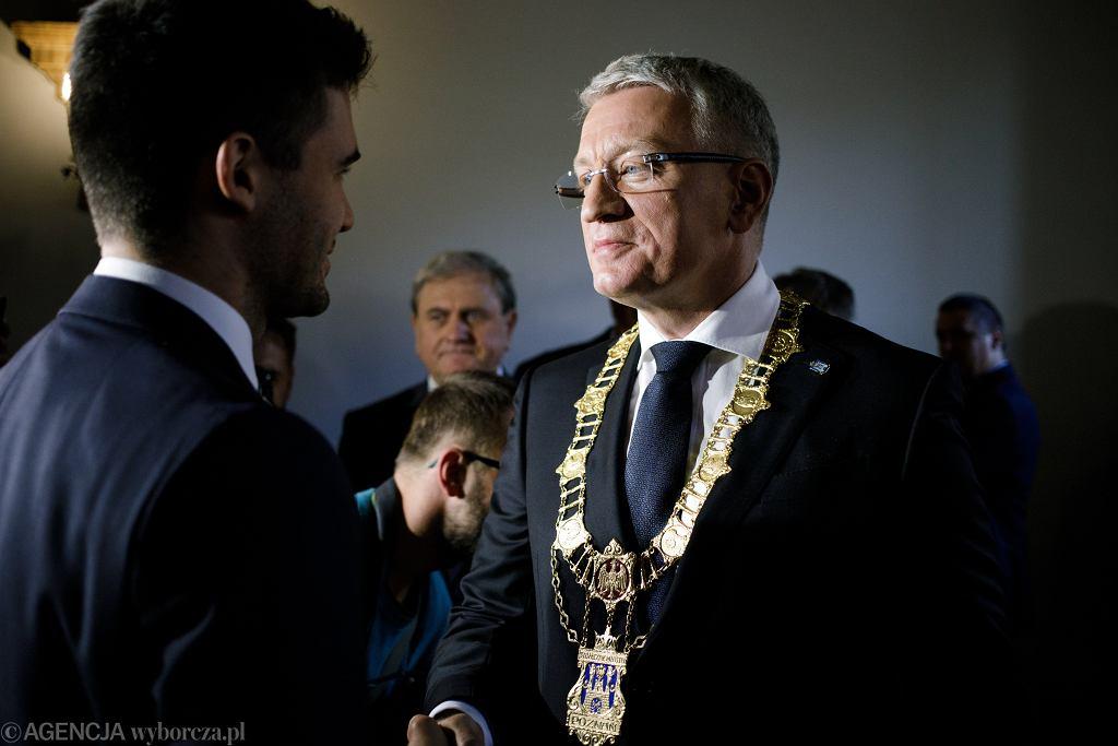 Jacek Jaśkowiak złożył ślubowanie i został zaprzysiężony na prezydenta Poznania