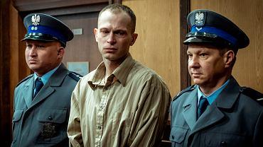 Piotr Trojan jako Tomasz Komenda w filmie '25 lat niewinności. Sprawa Tomka Komedy'.