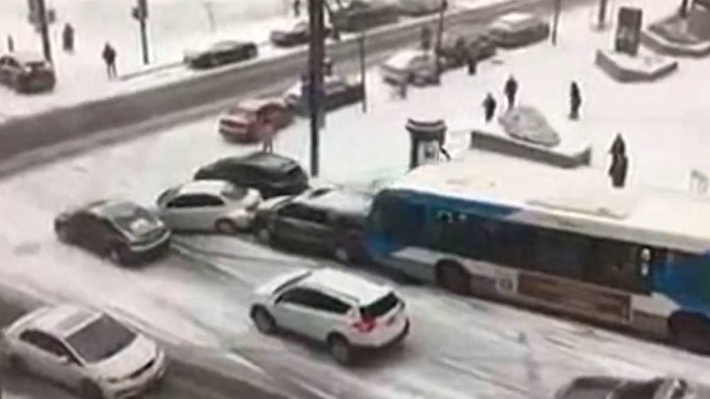 Montreal w śniegu