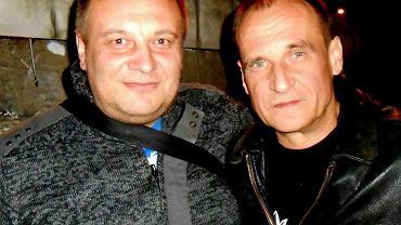 Dariusz Pitaś (z lewej) i Paweł Kukiz, fot. profil Dariusza Pitasia na Facebooku