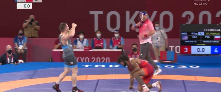 Tadeusz Michalik w półfinale zapasów do 97kg! Wiadomo, o której walka o medal