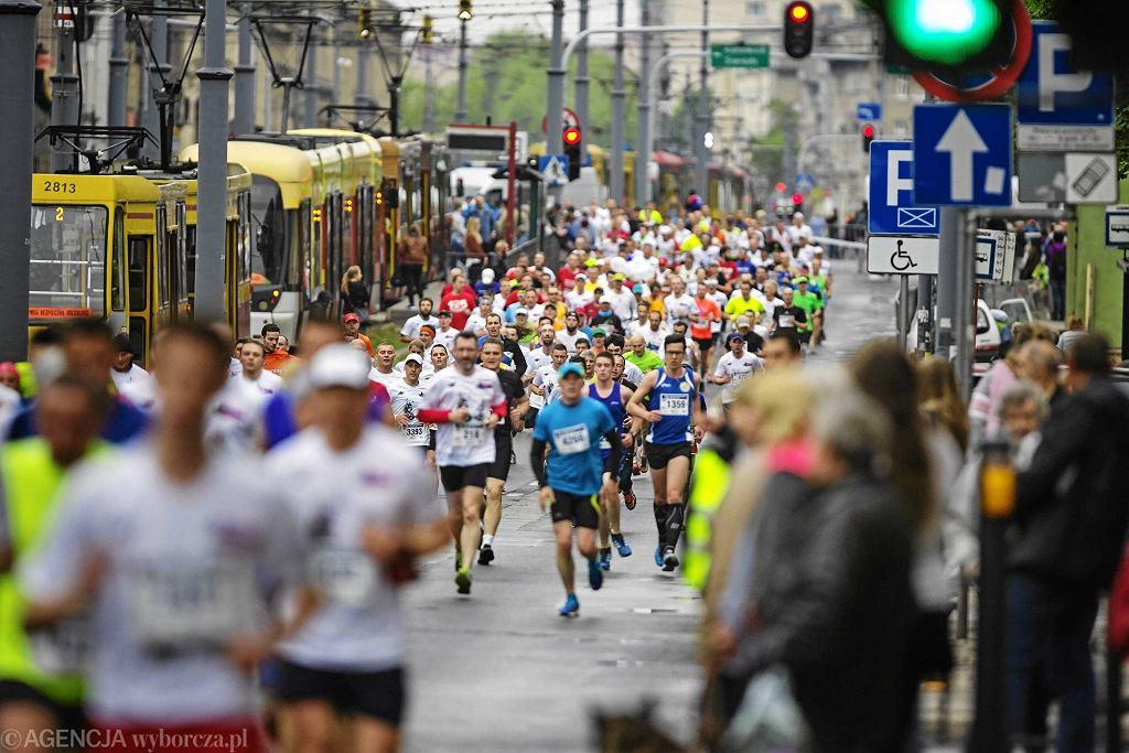 Bieg ulicą Piotrkowską