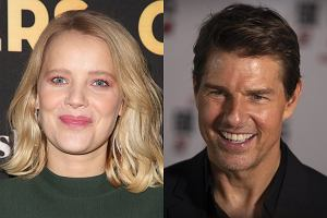 Joanna Kulig i Tom Cruise
