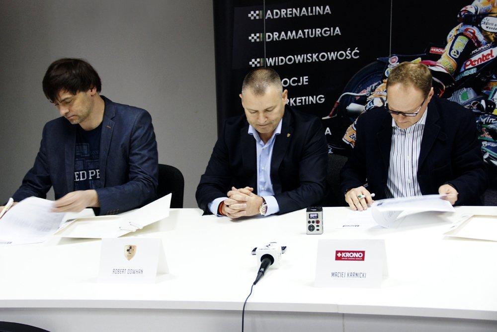 Marek Jankowski, Robert Dowhan, Maciej Karnicki