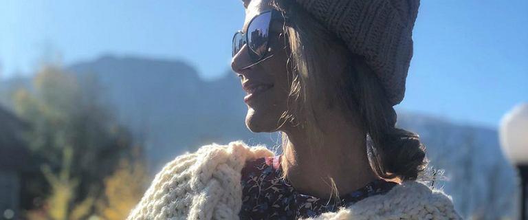 Paulina Sykut spędza czas w Zakopanem. Pokochaliśmy jej mega gruby sweter od polskiej marki!