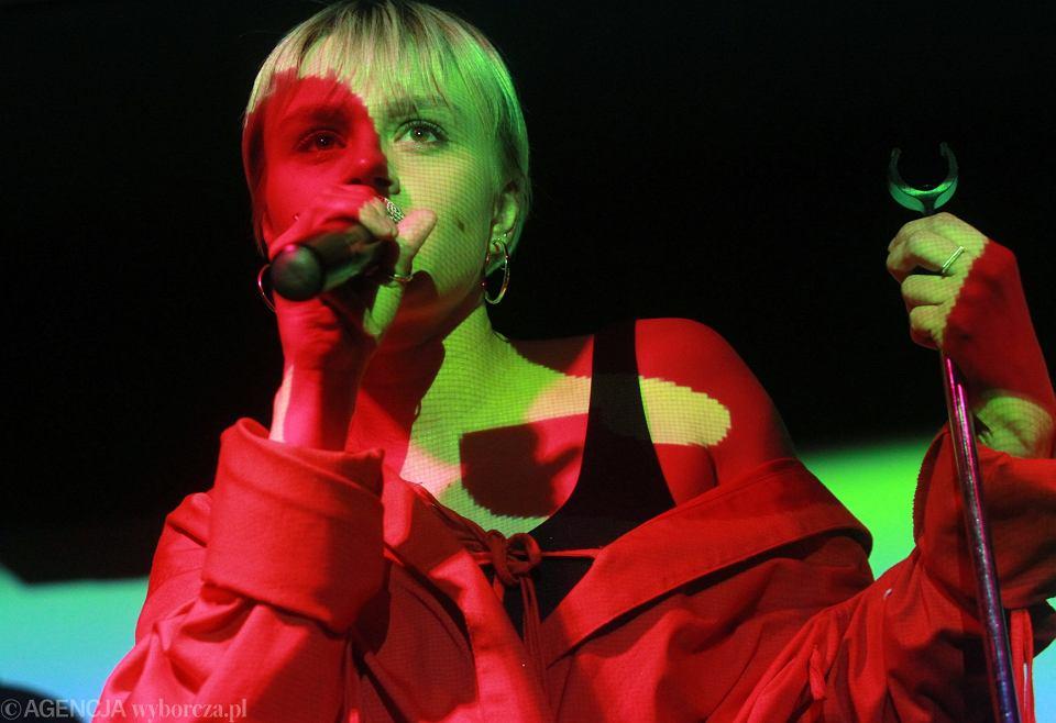 Rosalie podczas finału plebiscytu Sanki.