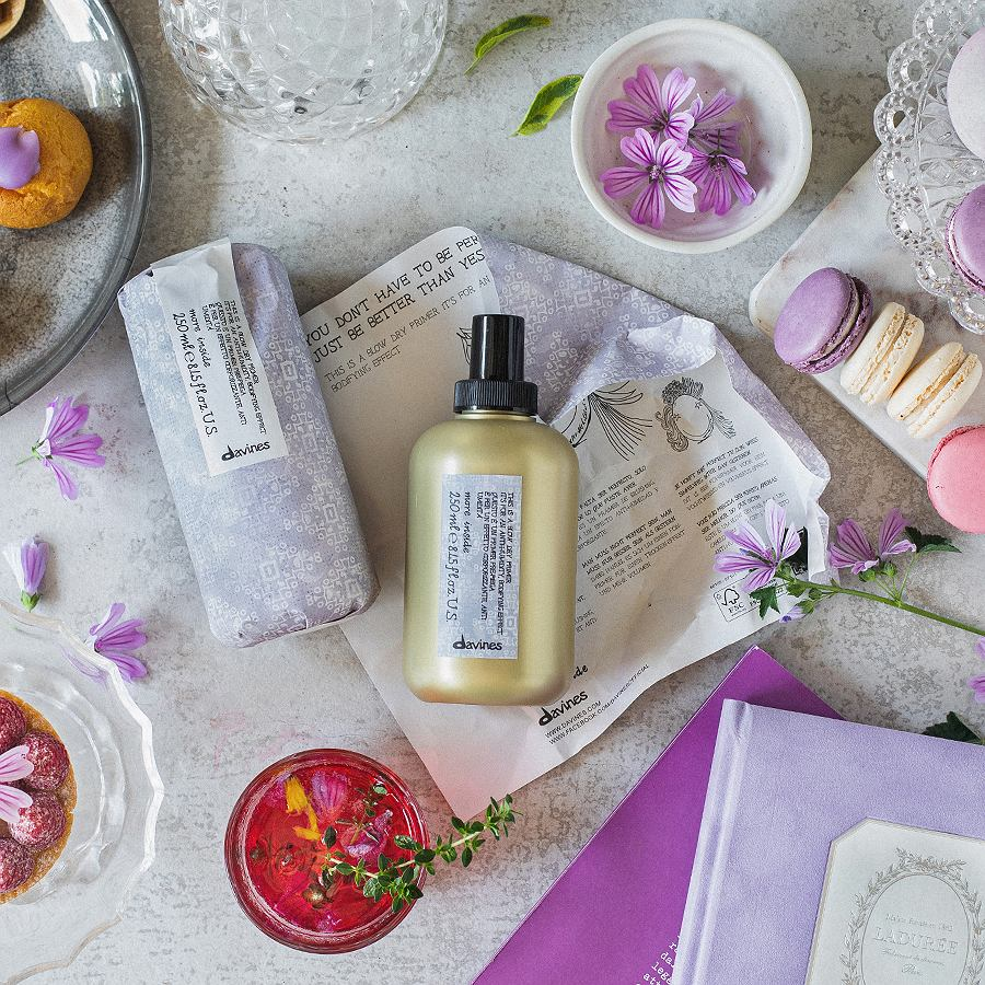 Kosmetyki do włosów Blow Dry Primer od Davines