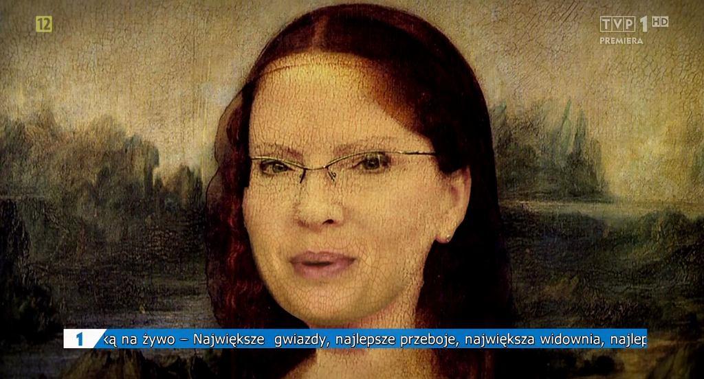 Kadr z programu 'Szopka Noworoczna'