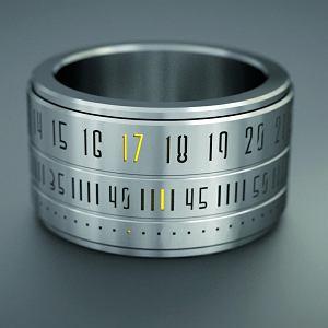 Stylowy gadżet: Ring Clock