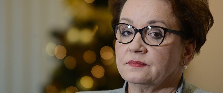 Liceum minister Anny Zalewskiej dołącza do strajku nauczycieli