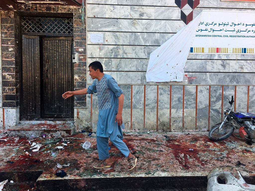 Zamach w Kabulu