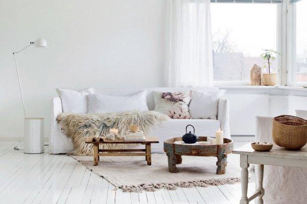 Wnętrza: norweskie mieszkanie blogerki