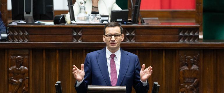 Expose premiera Mateusza Morawieckiego. Co powie szef rządu?
