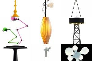 Oświetlenie: lampy podłogowe