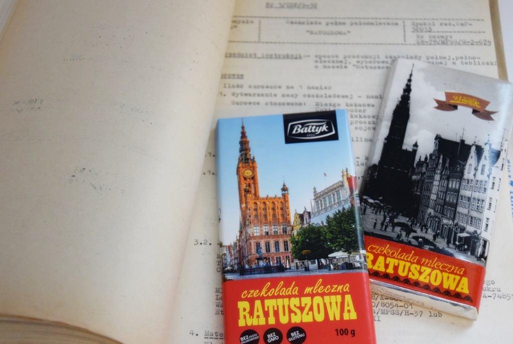 Powrót czekolady z lat 70-tych. Kultową 'Ratuszową' można już kupić w Gdańsku.