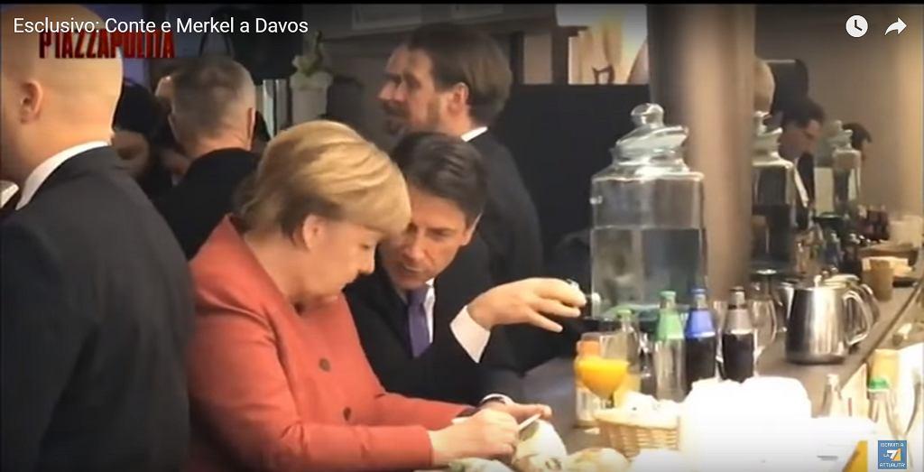 Angela Merkel i Giuseppe Conte