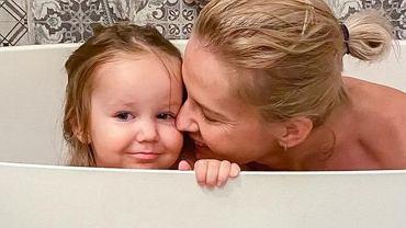 Edyta Pazura z córką Ritą