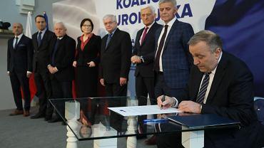 Konferencja prasowa wybory do PE