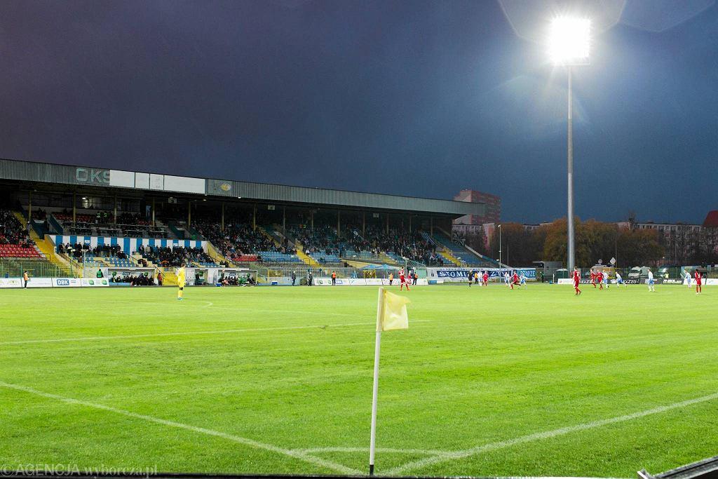 Stadion piłkarski w Olsztynie