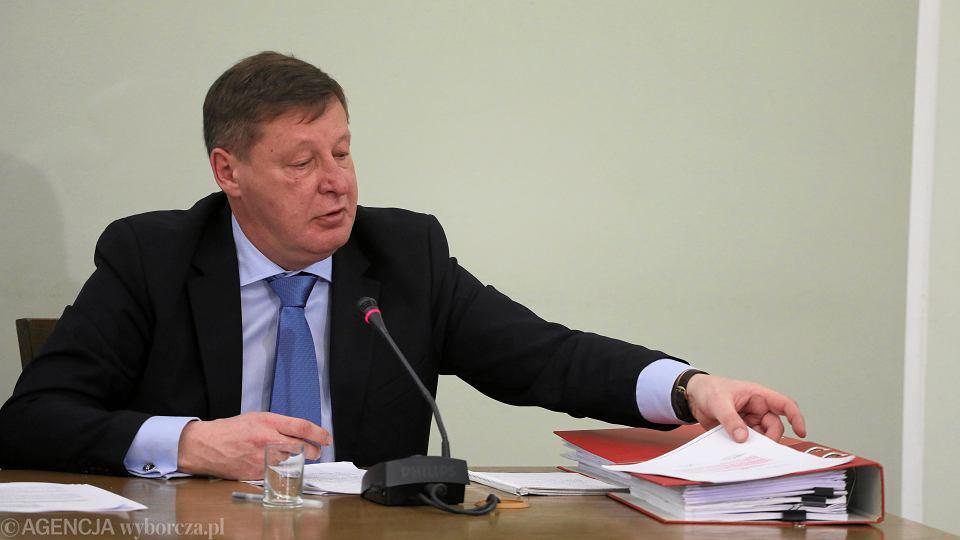 Andrzej Parafianowicz przed Komisja ds VAT