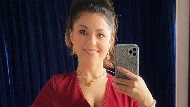 Kasia Cichopek zabrała męża na randkę... do salonu. Czerwona sukienka podkreśliła jej figurę. Wyglądała jak milion dolarów