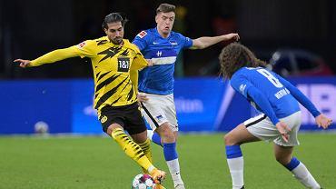 Tak Niemcy ocenili Krzysztofa Piątka za mecz z Borussią Dortmund. Znów to samo
