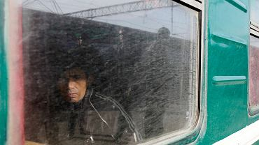 Imigrant zza Kaukazu - w pociągu relacji Tadżykistan - Moskwa