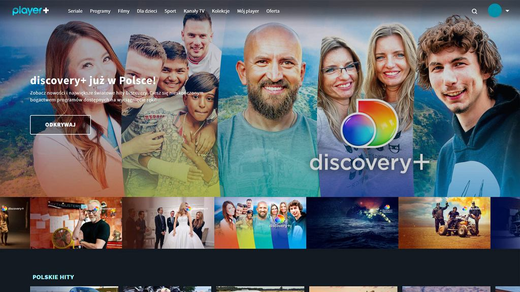 discovery + w Player.pl