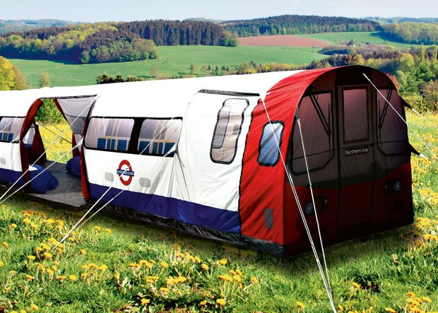 Mega namiot -  mega gadżet