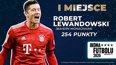 Robert Lewandowski Ikoną Futbolu 2020