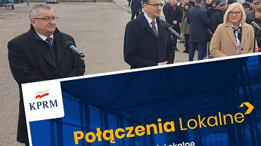 Premier Mateusz Morawiecki ogłosił start programu 'Połączenia Lokalne'