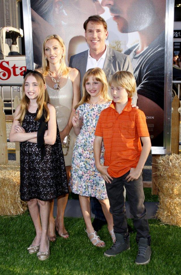 Nicholas Sparks z rodziną