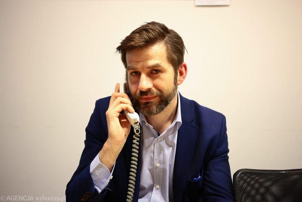 Piotr Drobek - zastępca dyrektora Departamentu Edukacji Społecznej i Współpracy Międzynarodowej w UODO (dawne GIODO).