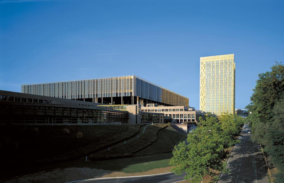 Siedziba TSUE w Luksemburgu.