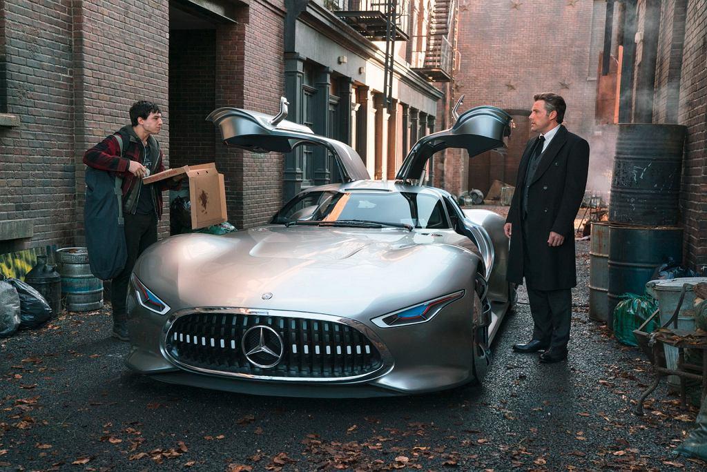 Mercedes w filmie Justice League (Liga Sprawiedliwości)