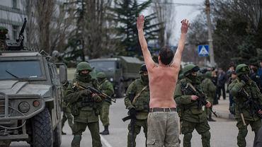 Ukraina. Ponad 32 tys. rosyjskich żołnierzy i 'elementy infrastruktury jądrowej' na Krymie