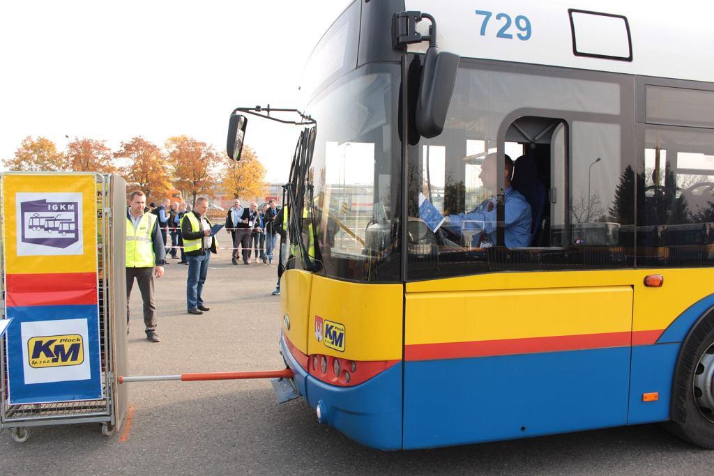Konkurs na najlepszego kierowcę autobusu