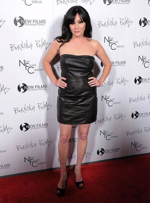 Shannen Doherty attends the New Films Cinema's Premiere of Burning Palms held at The Arclight Theatre in Hollywood, California on January 12,2011 CAP/RKE/DVS ?DVS/RockinExposures/Capital Pictures