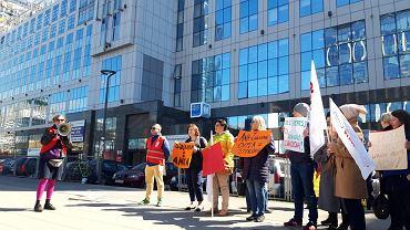 Protest przed siedzibą spółki Orpea