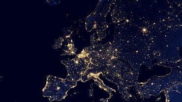 światła Europy