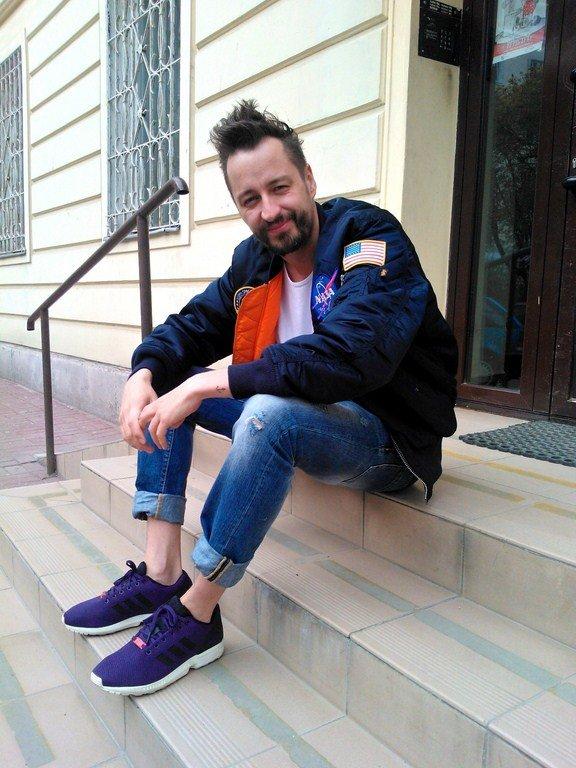 Piotr Kędzierski, moda męska, buty, adidas