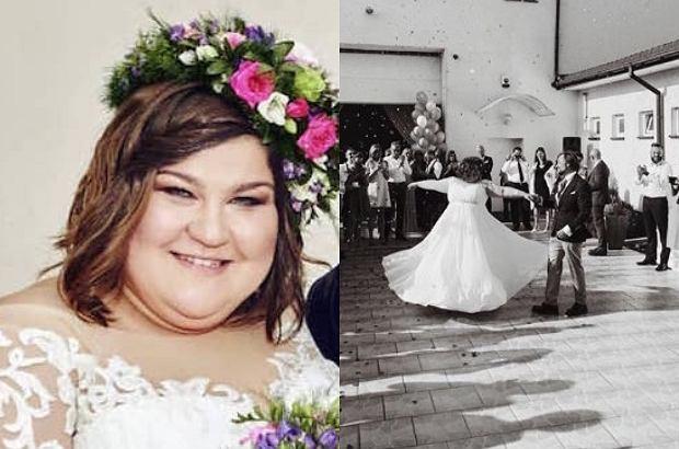 Dominika Gwit wzięła ślub. Zdjęcia z wesela pokazał Filip Bobek