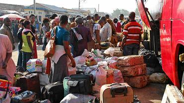 Maiduguri, Nigeria, obozowisko uchodźców z terenów ogarniętych rebelią Boko Haram