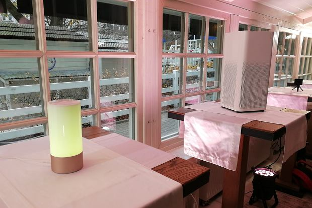 Xiaomi Mi Bedside Lamp i Air Purifier 2