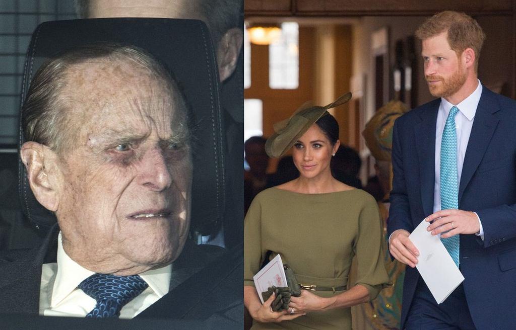 Książę Filip, Meghan Markle i książę Harry
