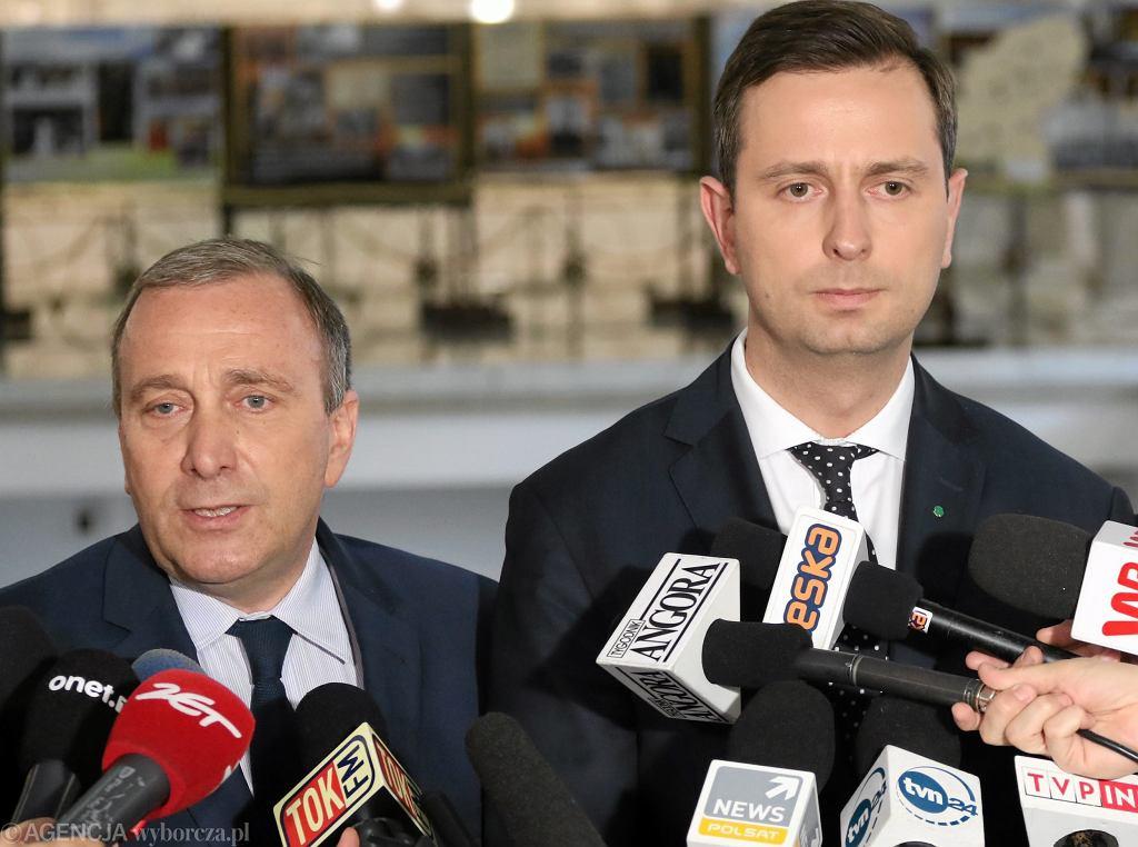 Szefowie PO i PSL: Grzegorz Schetyna i Władysław Kosiniak-Kamysz