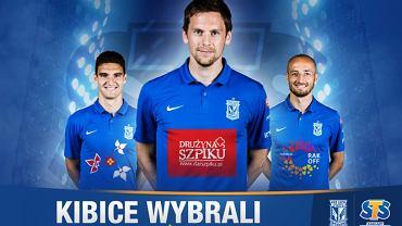 Piłkarze Lecha Poznań zagrają w meczu z FC Basel z logo fundacji Drużyna Szpiku na koszulkach