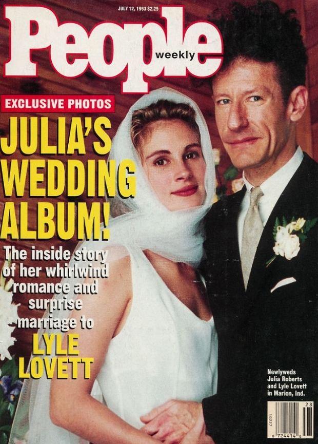 Julia Roberts i Lyle Lovett