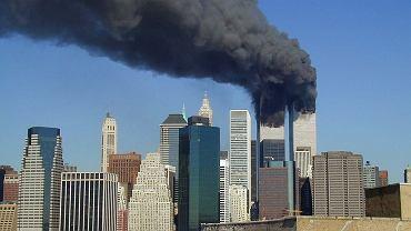 Płonące wieże WTC