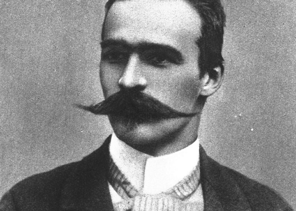 Józef Piłsudski w 1899 r., gdy ożenił się z Marią z Koplewskich Juszkiewiczową